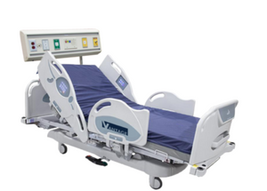 USA Vantage Med Surg Tutor Bed Integrated Head wall