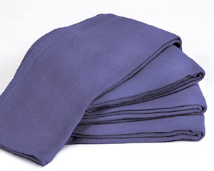 "Towels by Doctor Joe Blue 16"" x 25"" New Surgical Huck Towel, Pack of 12"