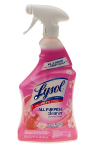 Lysol Cherry Blossom Pomegranate, 19 Oz, Spray Bottle