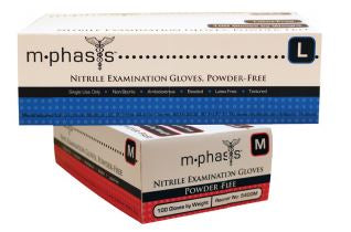 GLOVE EXAM NITRILE XLARGE POWDER FREE