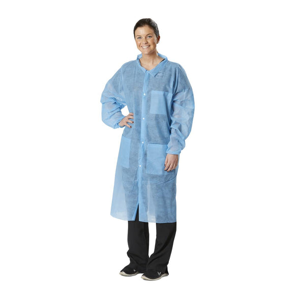 Disposable Spunbond Lab Coats 3XL
