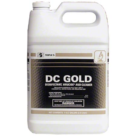 DC Gold Disinfectant Cleaner. 1 Gallon