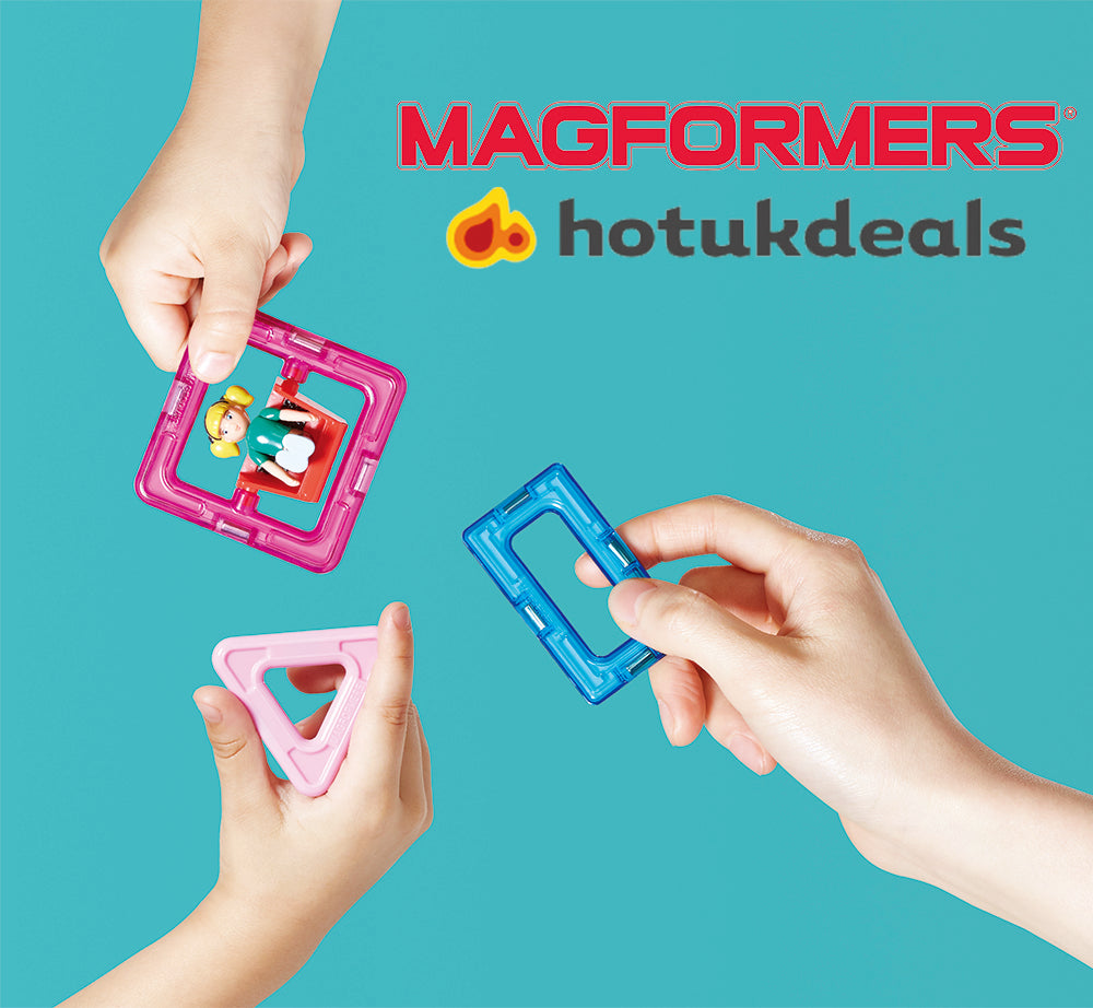 MAGFORMERS OFFERS FOR HOTUKDEALS: MONEY OFF + FREE DELIVERY