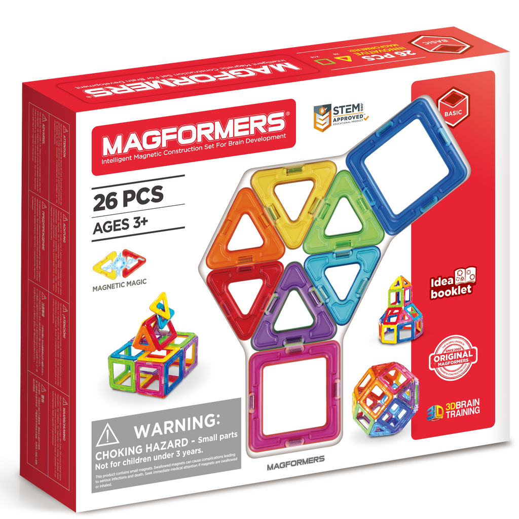 Magformers 26 STEM magnetic construction toy