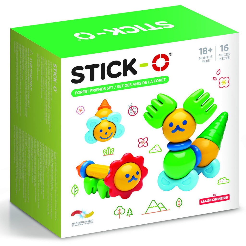 Sticko forest friends animal magnetic toy