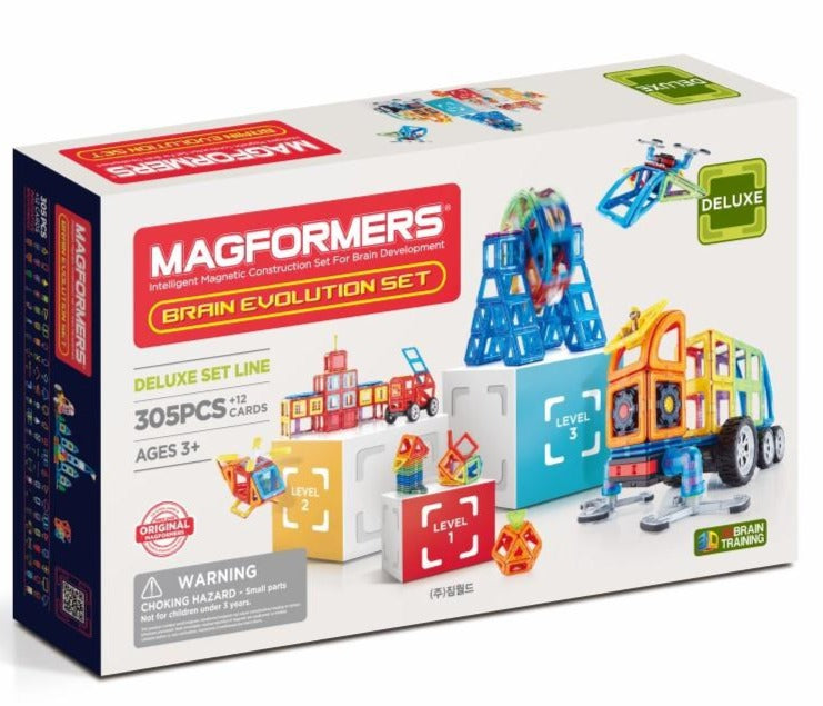 Magformers UK Brain Set