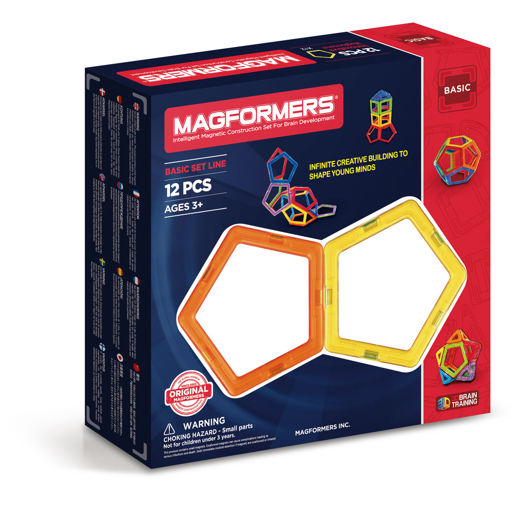 Magformers Pentagons 12-Piece Pack