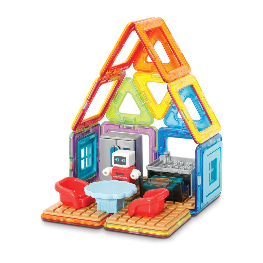 Magformers Minibot's Kitchen Set