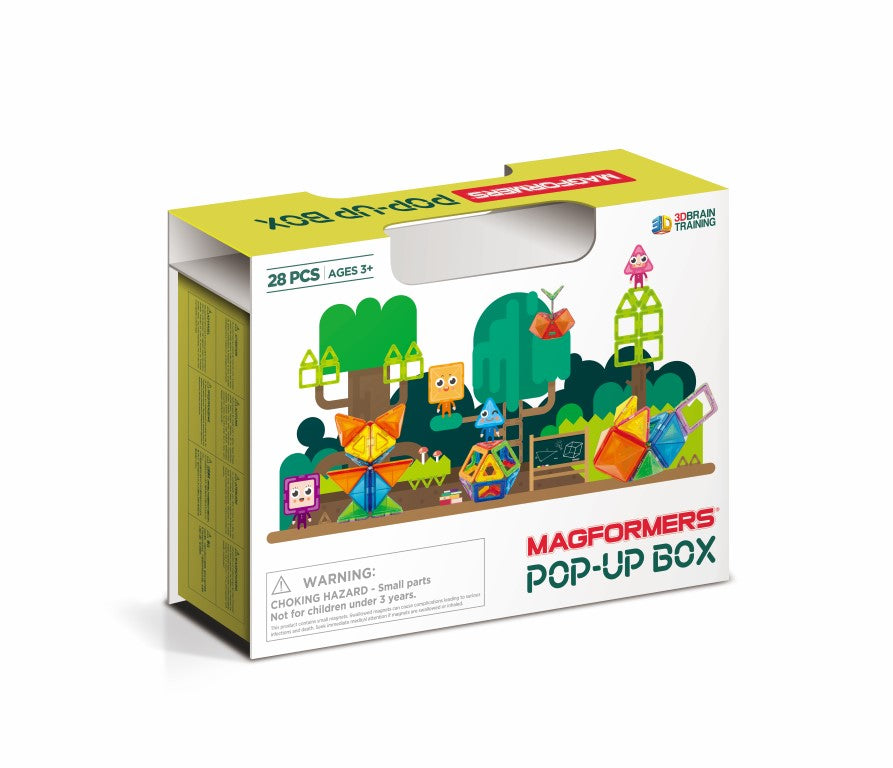 Magformers Pop-Up Box Set (28-pieces)