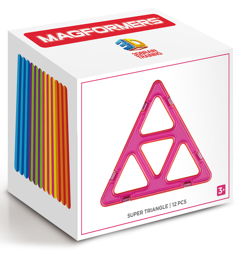 Magformers Super-size Triangles (12 pieces)