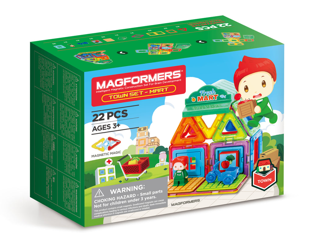 Magformers Mini-mart Set (22 Piceces)
