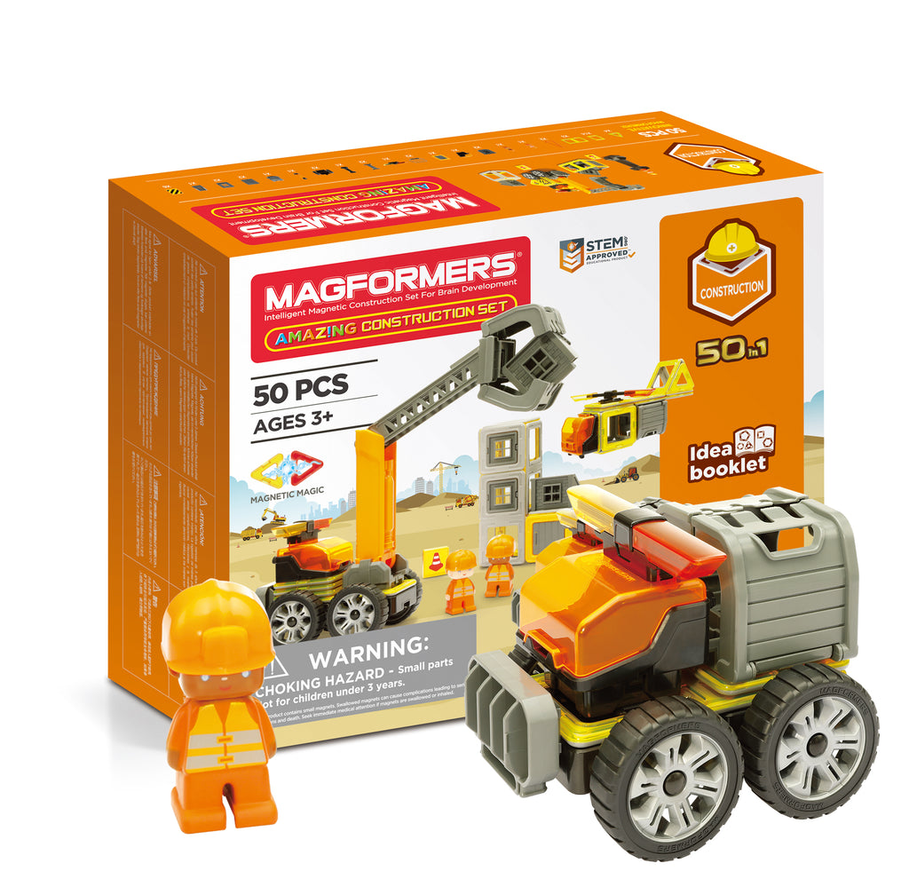 Magformers Amazing Construct 50-Piece Set