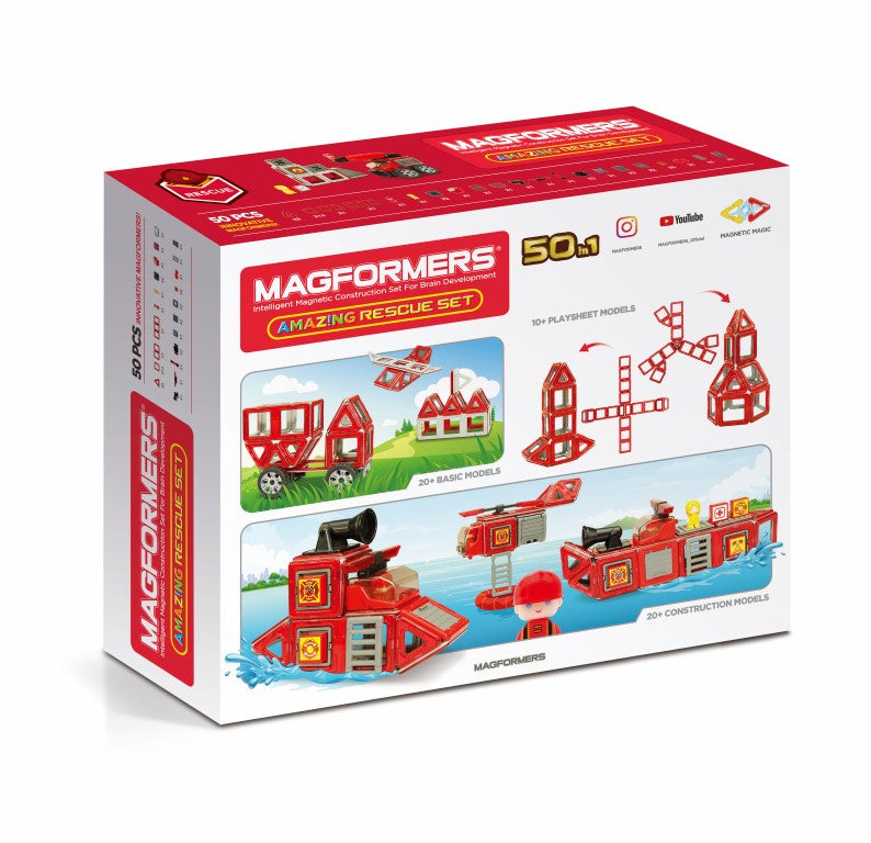 Magformers Amazing Rescue 50-Piece Set