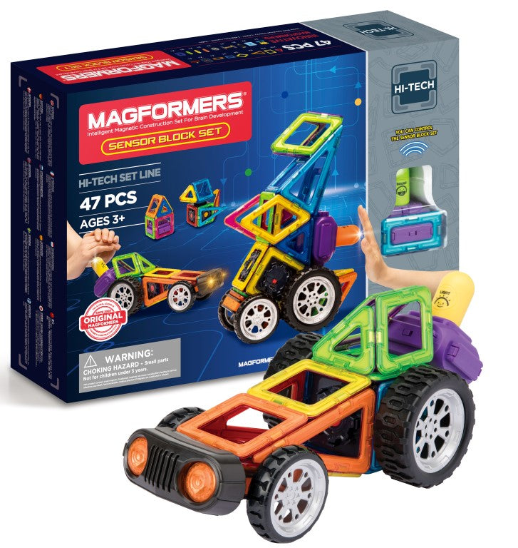 Magformers Sensor Block Set (47-Pieces)