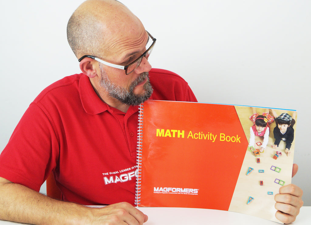 Magformers Giant Maths Workbook