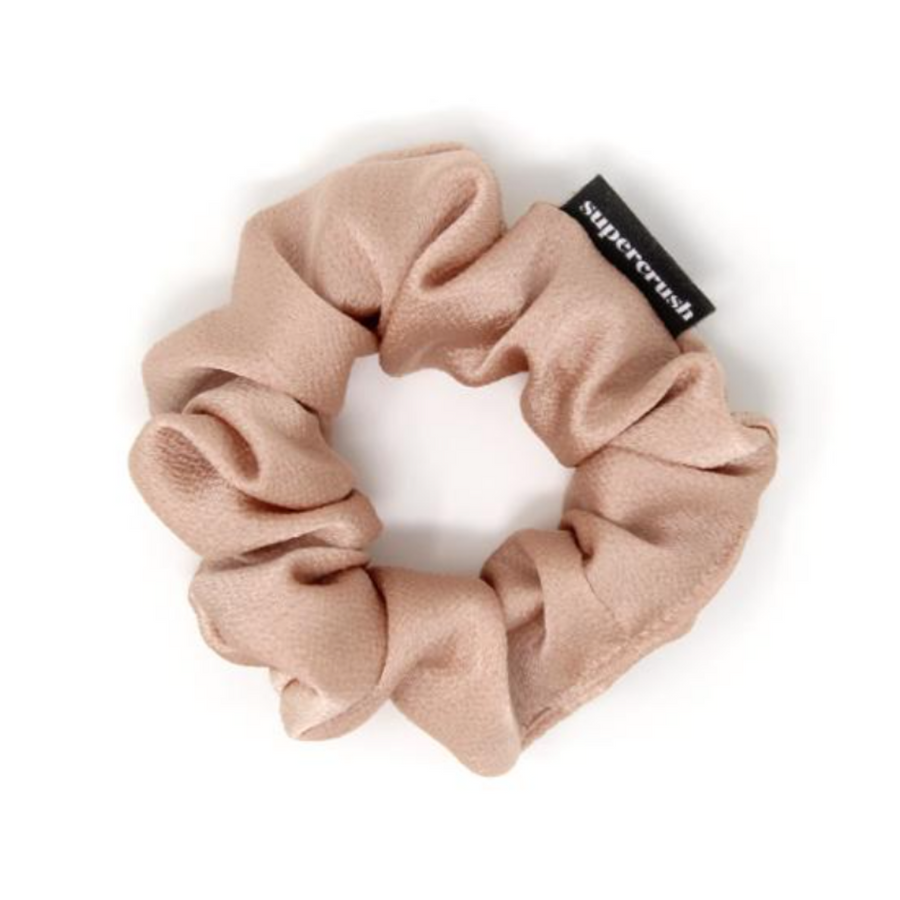 Skinny Blush Satin Supercrush Scrunchie