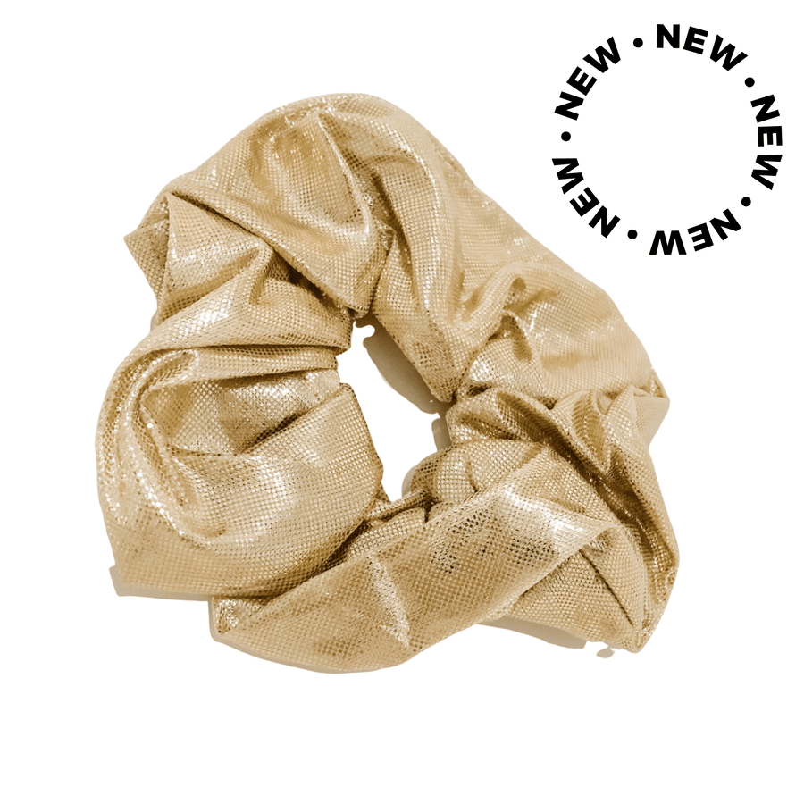 Gold Scrunchie - Toryce Inc.