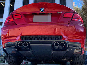 BMW E90 E92 E93 M3 Carbon Fiber Rear Diffuser Undertray
