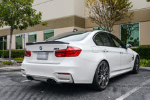 Load image into Gallery viewer, BMW F30 F80 M3 EVO Carbon Fiber Trunk Spoiler