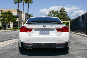 BMW F32 428 430 Performance Carbon Fiber Rear Diffuser
