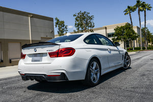 BMW F32 4 Series GTX Carbon Fiber Trunk Spoiler
