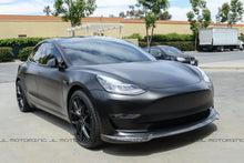 Load image into Gallery viewer, Tesla Model 3 Carbon Fiber Front Lip