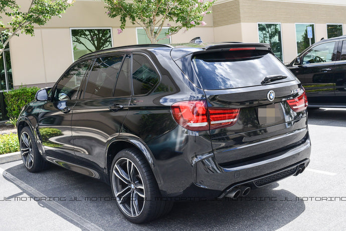 BMW F15 X5 F85 X5M Performance Carbon Fiber Roof Spoiler