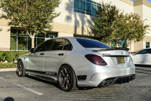 Load image into Gallery viewer, Mercedes W205 R Style Carbon Fiber Trunk Spoiler