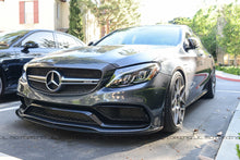 Load image into Gallery viewer, Mercedes Benz W205 C63 C63S AMG Edition 1 Carbon Fiber Front Lip