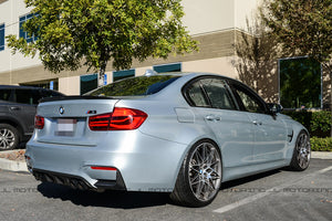 BMW F80 M3 F30 3 Series Performance Style Carbon Fiber Trunk Spoiler