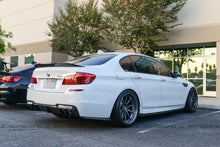 Load image into Gallery viewer, BMW F10 M5 M Sport Carbon Fiber Rear Bumper Side Skirts
