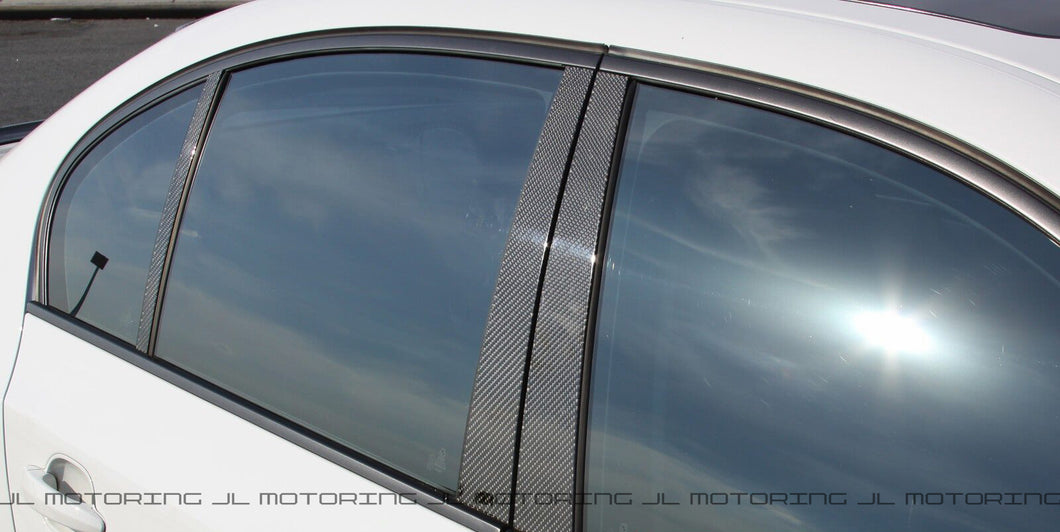 BMW E90 328 335 M3 Carbon Fiber Pillar Covers