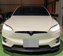 Load image into Gallery viewer, Tesla Model X Carbon Fiber Front Lip