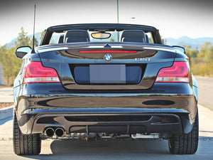 BMW E82 E88 M Sport Performance Carbon Fiber Rear Diffuser