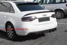 Load image into Gallery viewer, Audi B8 A4 S4 Carbon Fiber Roof Spoiler