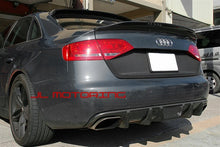 Load image into Gallery viewer, Audi B8 A4 C Style Carbon Fiber Trunk Spoiler