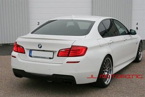 BMW F10 5 Series M Tech Carbon Fiber Rear Diffuser