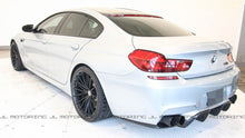 Load image into Gallery viewer, BMW F06 F12 F13 M6 V4 Carbon Fiber Rear DiffuserBMW F06 F12 F13 M6 V4 Carbon Fiber Rear Diffuser