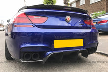 Load image into Gallery viewer, BMW F06 F12 F13 M6 V4 Carbon Fiber Rear Diffuser