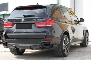 BMW F15 X5 M Sport Performance Carbon Fiber Rear Diffuser