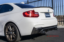 Load image into Gallery viewer, BMW F22 2 Series M Sport M235 Carbon Fiber Rear Diffuser