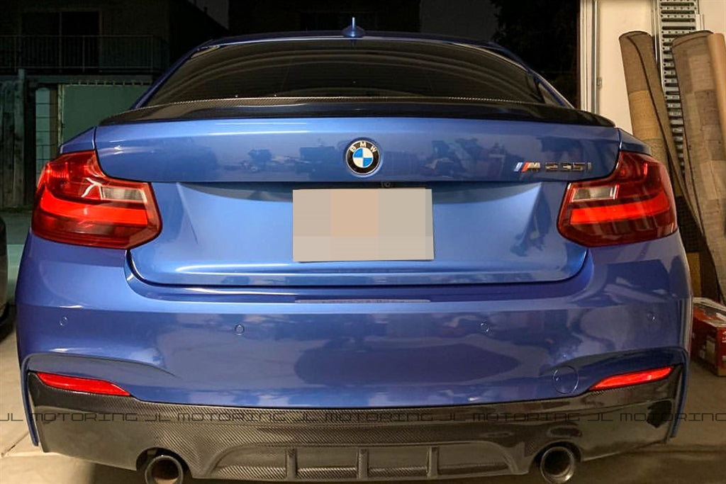 BMW F22 Performance Carbon Fiber Rear Diffuser