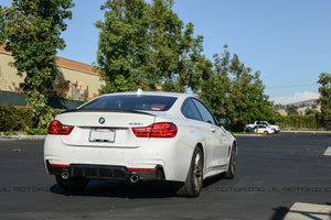 BMW F32 Performance Carbon Fiber Rear Diffuser
