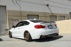 BMW F32 F33 F36 Performance Carbon Fiber Rear Diffuser
