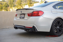 Load image into Gallery viewer, BMW F32 4 Series M Sport V2 Carbon Fiber Rear Diffuser