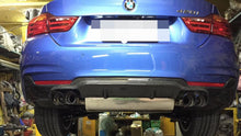 Load image into Gallery viewer, BMW F32 F33 F36 4 Series M Sport 3D Style Carbon Fiber Rear Diffuser