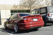 Load image into Gallery viewer, BMW E46 M3 CSL Style Carbon Fiber Rear Diffuser