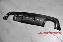 Load image into Gallery viewer, BMW E60 5 Series M Tech Carbon Fiber Rear Diffuser Quad