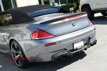Load image into Gallery viewer, BMW E63 E64 M6 Carbon Fiber Rear Diffuser