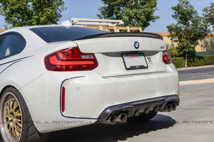 BMW F87 M2 Performance Carbon Fiber Rear Diffuser